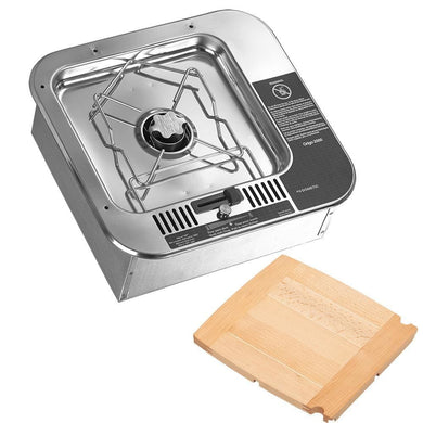 Dometic ORIGO 2000 Single Burner - Non-Pressurized Built-In Alcohol Stove w-Cutting Board [9581409-99] - Deck / Galley accessories