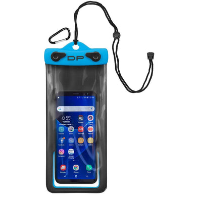 Dry Pak Cell Phone Case - 4 x 8 - Electric Blue [DP-48EB] - Cellphone/Camera/MP3 Cases Brand_Dry Pak camping Camping | Waterproof Bags &