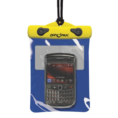 Dry Pak GPS-PDA-SmartPhone Case - Blue-Yellow - 5 x 6 [DP-56] - Waterproof Bags & Cases Brand_Dry Pak camping Camping | Waterproof Bags &