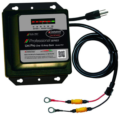 Dual Pro PS1 Battery Charger 1 Bank 15 Amps - Electrical dual-pro-chargers Dual Pro Chargers