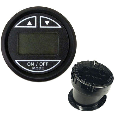 Faria 2 Depth Sounder w-In-Hull Transducer - Euro Black [12851] - Gauges Boat Outfitting | Gauges Brand_Faria Beede Instruments gauges