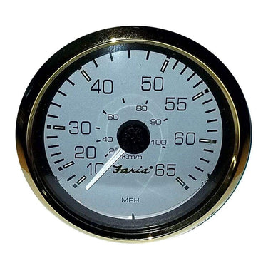 Faria 4 Signature Gold 65MPH Speedometer [34511] - Gauges Boat Outfitting | Gauges Brand_Faria Beede Instruments gauges Marine Instruments |