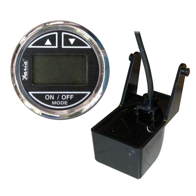 Faria Chesapeake SS Black 2 Depth Sounder w-Transom Mount Transducer [13750] - Gauges Boat Outfitting | Gauges Brand_Faria Beede Instruments