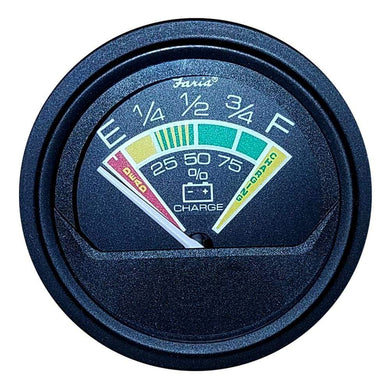 Faria Heavy Duty 2 Battery Condition Indicator - 12VDC - Black [23009] - Gauges Boat Outfitting | Gauges Brand_Faria Beede Instruments