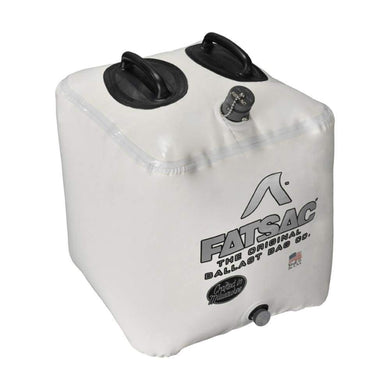FATSAC Brick Fat Sac Ballast Bag - 155lbs - White [W702-WHITE] - Accessories Boat Outfitting | Accessories Brand_FATSAC camping watersports