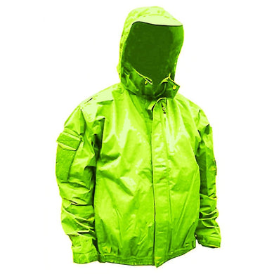 First Watch H20 Tac Jacket - XXX-Large - Hi-Vis Yellow [MVP-J-HV-3XL] - Foul Weather Gear Brand_First Watch first-watch outdoor Outdoor |