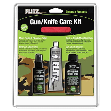 Flitz Knife & Gun Care Kit [KG 41501] - Cleaning Boat Outfitting | Cleaning Brand_Flitz camping Camping | Knives cleaning Flitz 065925415018