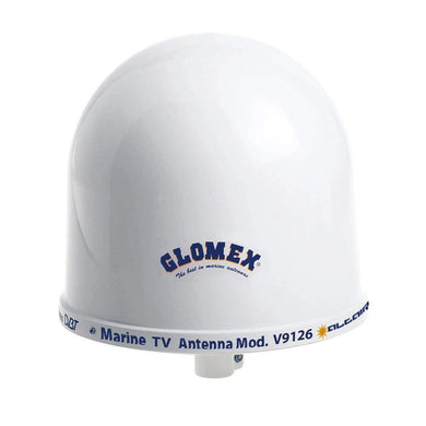 Glomex 10 Dome TV Antenna w-Auto Gain Control Mount [V9126AGC] - Antenna Mounts & Accessories antenna-mounts-accessories Brand_Glomex Marine