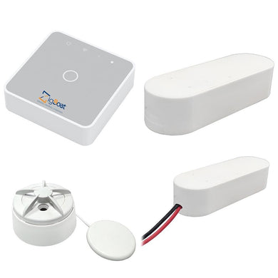 Glomex ZigBoat Starter Kit System - Gateway Battery Door-Porthold Flood Sensor [ZB101] - Security Systems Boat Outfitting | Security Systems
