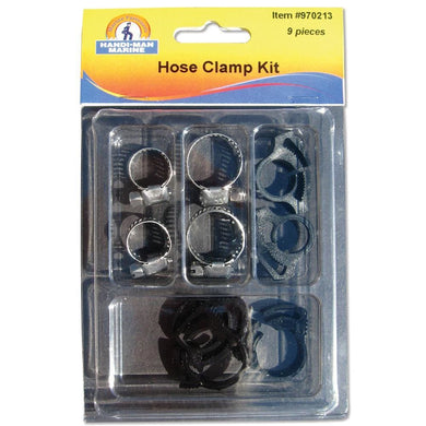 Handi-Man Hose Clamp Kit [970213] - Hooks & Clamps Brand_Handi-Man Marine hooks-clamps Marine Hardware | Hooks & Clamps marine-hardware