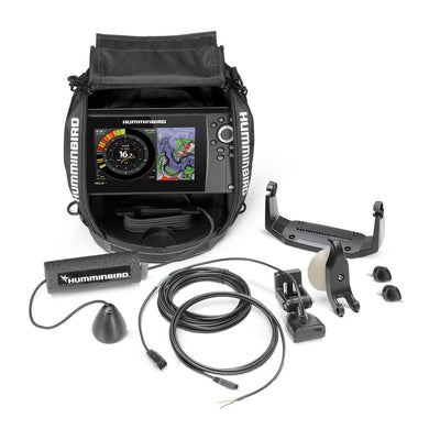Humminbird Helix7 Chirp G3n Ice Sonar Gps System All Season Kit - Fishfinders Fishfinder - Ice Fishing Humminbird 082324054341