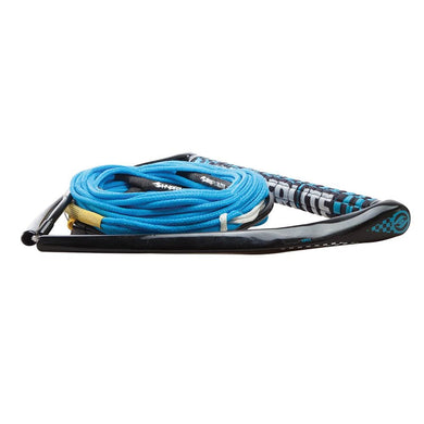 Hyperlite 75 Rope w-Chamois Handle Fuse Mainline Combo - Blue - 5 Section - 15 Handle [87000112] - Ski/Wakeboard Ropes Brand_Hyperlite