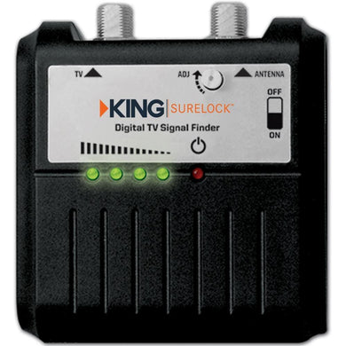 KING SL1000 SureLock Digital TV Antenna Signal Finder [SL1000] - Over-The-Air TV Antennas Brand_KING entertainment Entertainment |