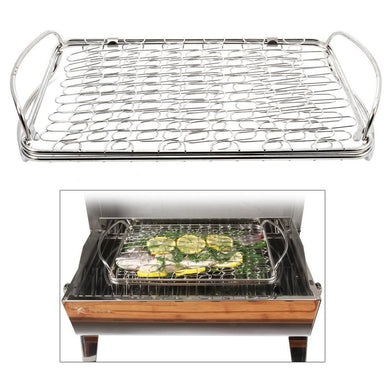 Kuuma Fish Basket - Stainless Steel [58387] - Deck / Galley Boat Outfitting | Deck / Galley Brand_Kuuma Products deck-galley Kuuma Products