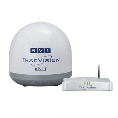 KVH TracVision RV1 - *Refurbished Open Box Model - Automotive/RV Entertainment Satellite Receivers KVH