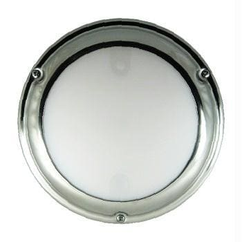 Lumitec 101097 LED Touch Dome White-Blue 12v Stainless Steel - Lighting Lights - Interior lumitec Lumitec 089300600516