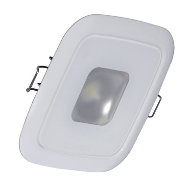Lumitec Square Mirage Down Light - White Dimming Red-Blue Non-Dimming - White Bezel [116128] - Dome/Down Lights Brand_Lumitec