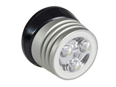 Lumitec Zephyr Deck Light Brushed-Black Housing White - Lighting Lights - Exterior lumitec Lumitec 089300013262