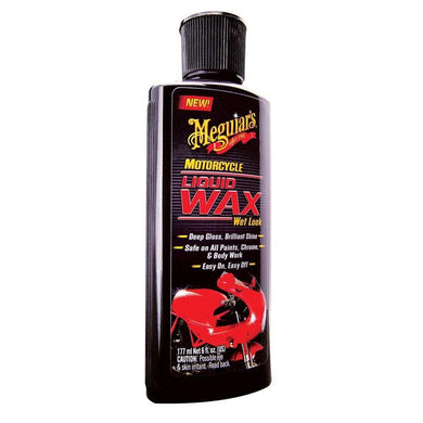 Meguiars Motorcycle Liquid Wax - Wet Look [MC20206] - Cleaning Automotive/RV | Cleaning Brand_Meguiars cleaning Meguiars