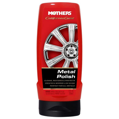 Mothers California Gold Metal Polish Liquid - 12oz *Case of 6* [05112CASE] - Cleaning Automotive/RV | Cleaning Brand_Mothers Polish cleaning