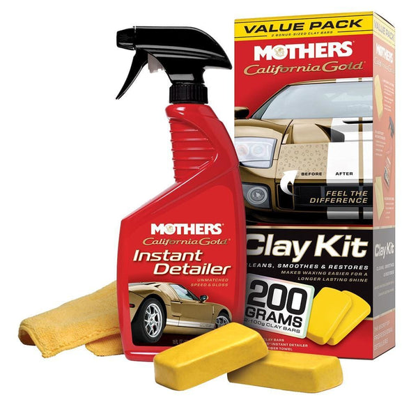 Mothers Clay Kit Value Pack - Group [07240] - Cleaning Automotive/RV | Cleaning Brand_Mothers Polish cleaning Mothers Polish 078175072405