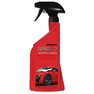 Mothers Speed Spray Wax - 24oz *Case of 6* [15724CASE] - Cleaning Automotive/RV | Cleaning Brand_Mothers Polish cleaning Mothers Polish