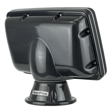 NavPod PP4900-04 PowerPod Pre-Cut f-Garmin echoMAP 92sv-93sv-94sv-95sv - Carbon Black [PP4900-04-C] - Display Mounts Boat Outfitting |