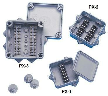 Newmar PX-3 Junction Box Waterproof - Electrical Installation Accesories newmar under-50 Newmar