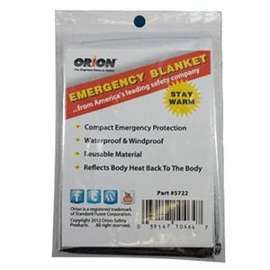 Orion Emergency Blanket [464] - Accessories Brand_Orion camping Marine Safety | Accessories marine-safety orion Orion 039147104647
