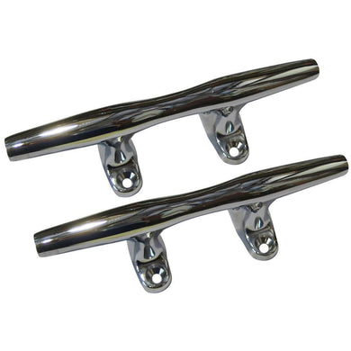 Perko 4 Open Base Cleat - Chrome Plated Zinc - Pair [1188DP4CHR] - Cleats Brand_Perko cleats Marine Hardware | Cleats marine-hardware Perko