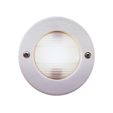 Perko Vertical Mount Stern Light w-White Bezel [0946DP1WHT] - Navigation Lights Brand_Perko lighting Lighting | Navigation Lights