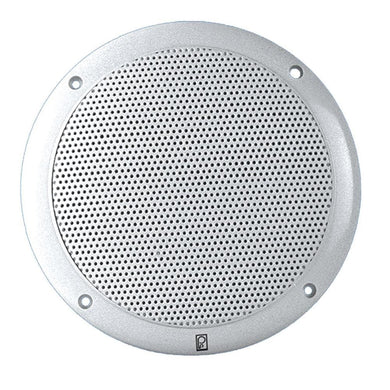 Poly-Planar 5 2-Way Coax-Integral Grill Speaker - (Pair) White [MA4055W] - Speakers Brand_Poly-Planar entertainment Entertainment | Speakers