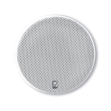 Poly-Planar 5.25 Platinum Round Marine Speaker - (Pair) White [MA6500] - Speakers Brand_Poly-Planar entertainment Entertainment | Speakers