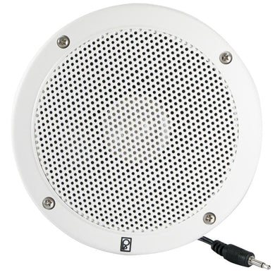 Poly-Planar 5 VHF Extension Speaker (Single) - Flush Mount - White [MA1000RW] - Speakers Brand_Poly-Planar entertainment Entertainment |