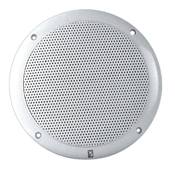 "Poly-Planar 6"" Dual Cone Integral Grill Speaker - (Pair) White [MA4600]"