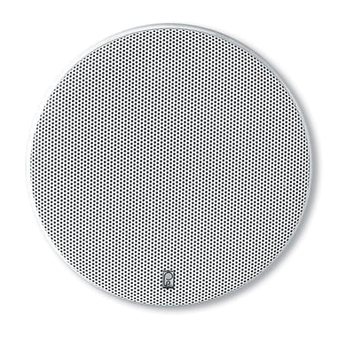Poly-Planar 8 Platinum Round Marine Speaker - (Pair) White [MA6800] - Speakers Brand_Poly-Planar entertainment Entertainment | Speakers