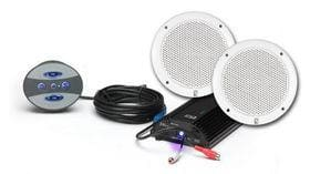 Polyplanar Bt-kit-5w Amplifier With Speakers - Audio/Video Stereo - Packages Polyplanar