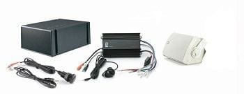 Polyplanar MP3-KIT-7 White Amp And Speaker Kit - Audio/Video audio-video polyplanar Stereo - Packages Polyplanar 73112894083