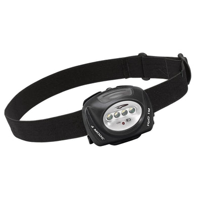 Princeton Tec QUAD Industrial 78 Lumen Headlamp - Black [QUAD-IND] - Flashlights Brand_Princeton Tec camping Camping | Flashlights