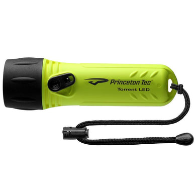 Princeton Tec TORRENT LED 280 Lumen Dive Light - Neon Yellow [TORR-NY] - Flashlights Brand_Princeton Tec camping Camping | Flashlights