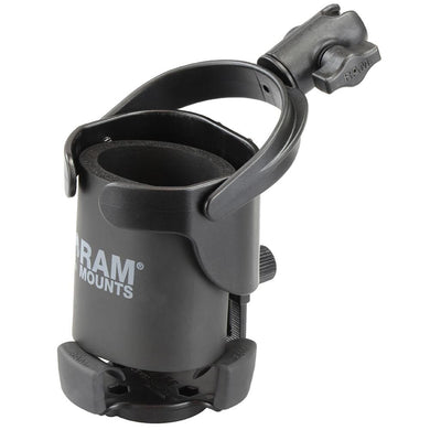 RAM Mount Level Cup XL w-Single Socket for B Size 1 Ball [RAP-B-417-200-1U] - Drink Cup Mounts Brand_RAM Mounting Systems drink-cup-mounts