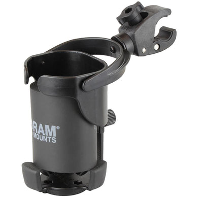 RAM Mount Level Cup XL w-Small Tough-Claw [RAP-B-417-400U] - Drink Cup Mounts Brand_RAM Mounting Systems drink-cup-mounts Ram Mount Store |