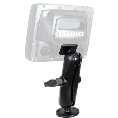 RAM Mount Quick Release Mount f-Lowrance Mark & Elite 5 [RAM-101-LO11] - Marine Electronics Mounts Brand_RAM Mounting Systems