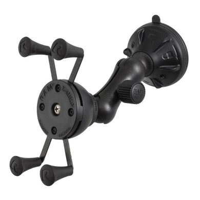 RAM Mount X-Grip Composite Twist Lock Suction Cup Mount [RAP-B-166-2-UN7U] - Suction Cup Mounts Brand_RAM Mounting Systems Ram Mount Store |