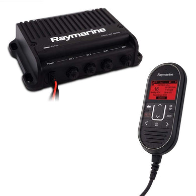 Raymarine Ray90 Modular Dual-Station VHF Black Box Radio System [E70492] - VHF - Fixed Mount Brand_Raymarine communication Communication |