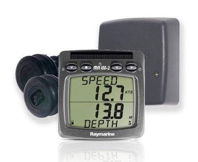 Raymarine T100 Wiress Display W-Speed And Depth Transducers - Instruments Gauges - Multi instruments marine-instruments raymarine Raymarine