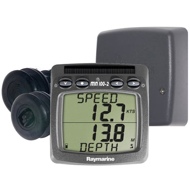 Raymarine Wireless Speed & Depth System [T100-916] - Instruments - Depth/Temp Brand_Raymarine instruments-depth-temp Marine Instruments |