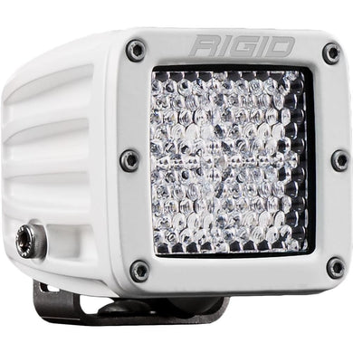 RIGID Industries D-Series PRO Flood Diffused - Single - White [601513] - Flood/Spreader Lights Brand_RIGID Industries flood-spreader-lights