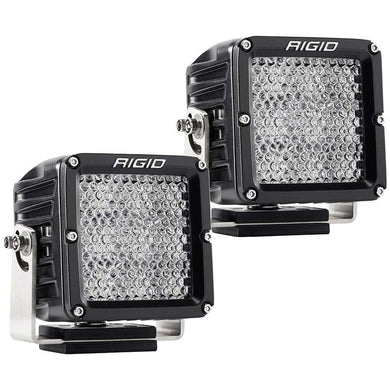 RIGID Industries D-XL PRO Diffused - Pair - Black [322313] - Flood/Spreader Lights Brand_RIGID Industries flood-spreader-lights lighting