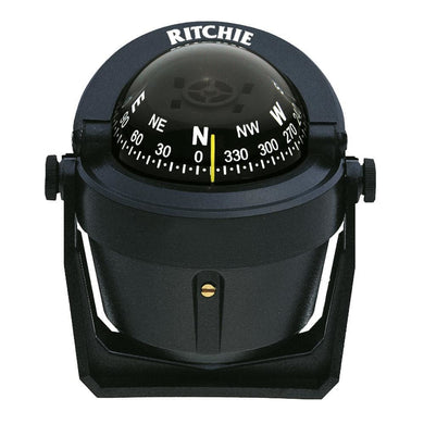 Ritchie B-51 Explorer Compass - Bracket Mount - Black [B-51] - Compasses - Magnetic Brand_Ritchie compasses-magnetic Marine Instruments |